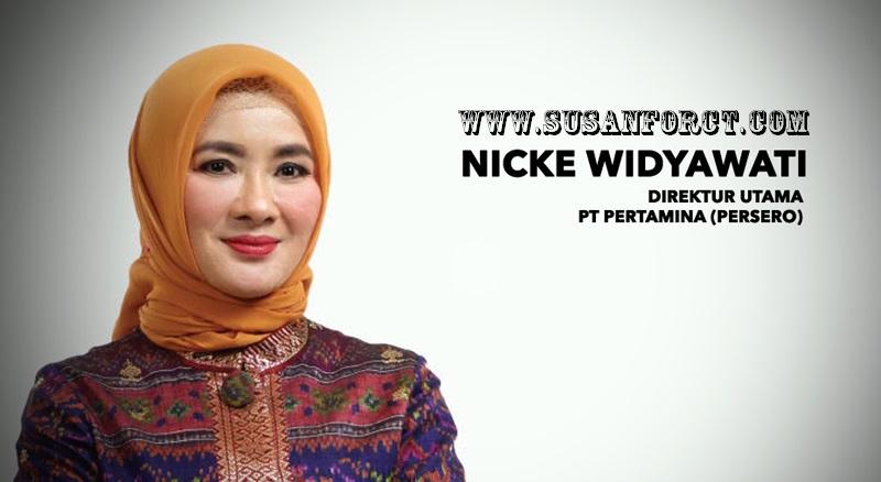 Nicke Widyawati Direkur Utama Pertamina Republik Indonesia